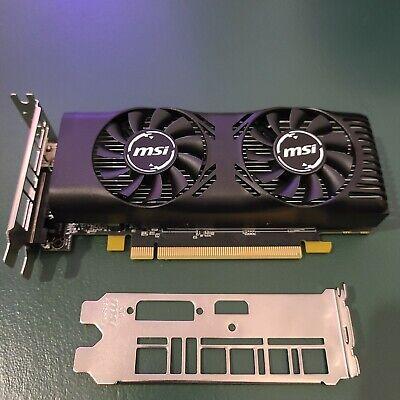 MSI GTX 1650 4GB Low Profile Graphics Card