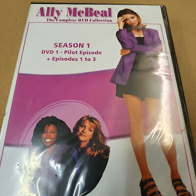 Ally McBeal Season 1 Pilot Episode and Eps 1 to 3. DVD...