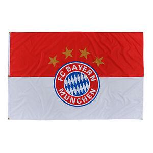 FC Bayern München Hissfahne Hissflagge mit Ösen Gr: 180 x 120 cm 2017 NEU