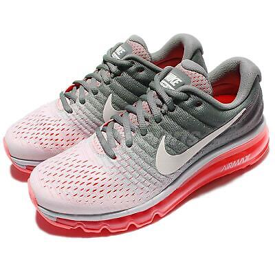 Wmns Nike Air Max 2017 Grey Pink Women Running Shoes Sneakers Trainer 849560-007