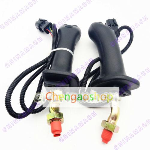 1 pair Plastic control knob,lever handle fits Daewoo Doosan DH225-9 #Q5852 ZX