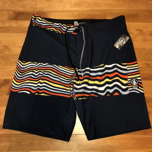 NEW Volcom XS ENG Boardshorts Men's Swim Trunk's Size 36