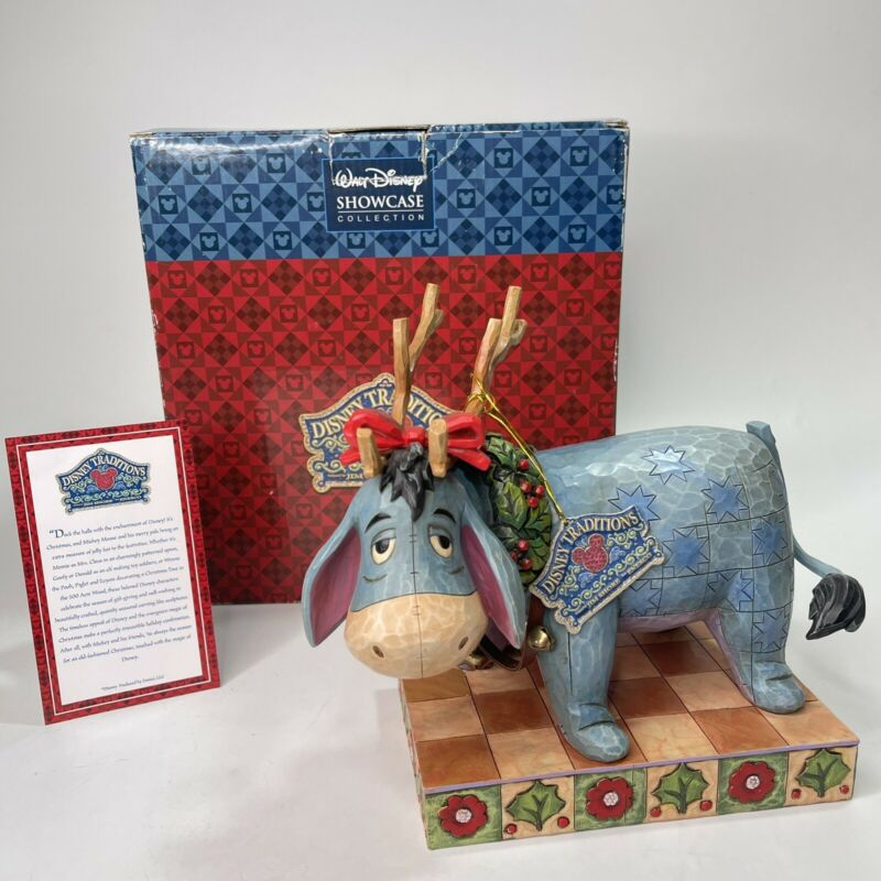 Jim Shore Walt Disney Showcase Collection Eeyore Life Of The Party 4008067 NEW
