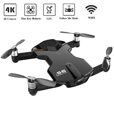 Wingsland S6 Pocket Selfie RC Drone WiFi With 4K UHD Camera FPV Quadcopter