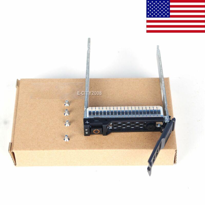 """2.5"""" SATA SAS HDD Tray Caddy NRX7Y V81C6 Y9DDJ For Dell M420 M520 M820 VRTX @USA"""