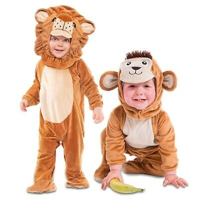 Animal Zoo Farm Fancy Dress Costume Sizes 6 12 18 24 months (Deluxe-baby Kostüme)