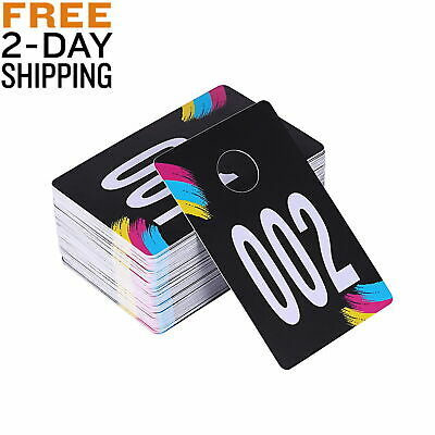 Helpful And Colorful Live Sale Plastic Number Tags Hanger Cards For Clothes Very