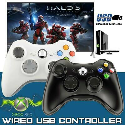 FOR Wired Xbox 360 Controller Game Pad For Microsoft Xbox 360 PC...