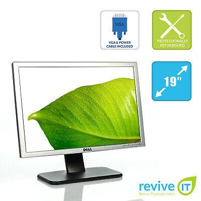 "Dell SE198WFP 19"" Widescreen 1440x900 Flat Panel LCD Monitor DVI VGA Grade A segunda mano  Embacar hacia Argentina"
