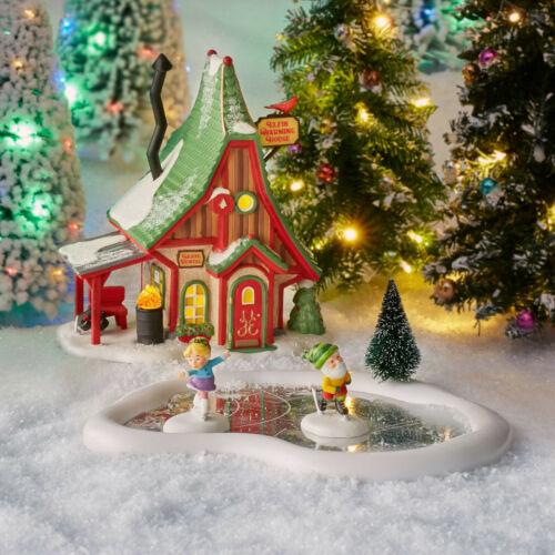 Dept. 56 North Pole Series Holiday Skating Party #6004810 NIB