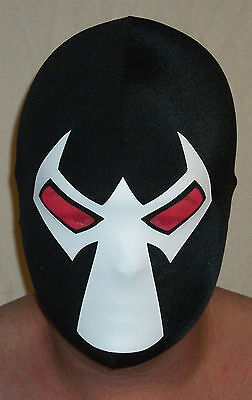 Bane Mask costume Batman dark knight new halloween FREE SHIP MADE IN - Halloween Costumes Bane Mask