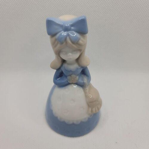 Vintage Porcelain Colonial Girl Figurine -