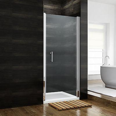 90x185 cm Duschabtrennung Duschwand Nischentür Dusche Schwingtür Echtglas