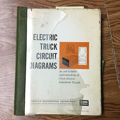 Clark Electric Truck Circuit Diagrams Manual Schematic Fork Lift Troubleshooting