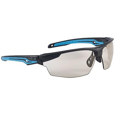 Bolle Tryon Safety Glasses With Indooroutdoor Anti-fog Lens