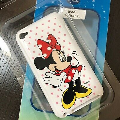 iPod Touch 4th Gen - SOFT RUBBER GUMMY GEL SKIN CASE COVER Disney Minnie Mouse 4th Gen Skin