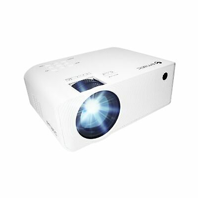 "Ematic 150"" HD Multimedia Theater Projector (EPJ580W), White"