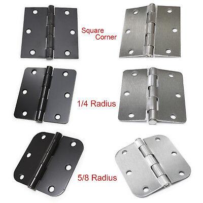 1/4 Radius Corner Hinges - 3.5
