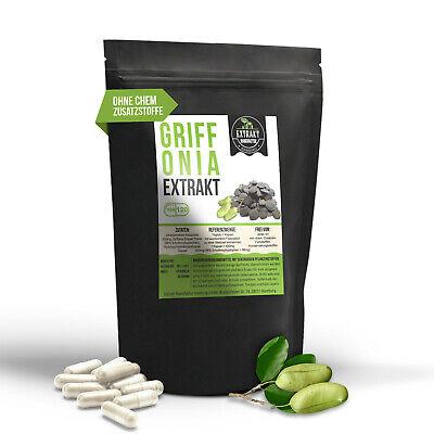 120 Kapseln Griffonia Simplicifolia 100mg Extrakt | Schwarzbohnen | 98% 5-HTP - Extrakt 100 Mg 120 Kapseln