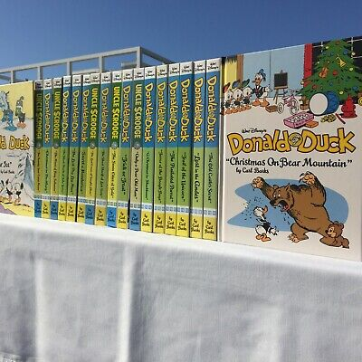 The Complete Donald Duck & Uncle Scrooge - Carl Barks Library - ALL 19 Volumes
