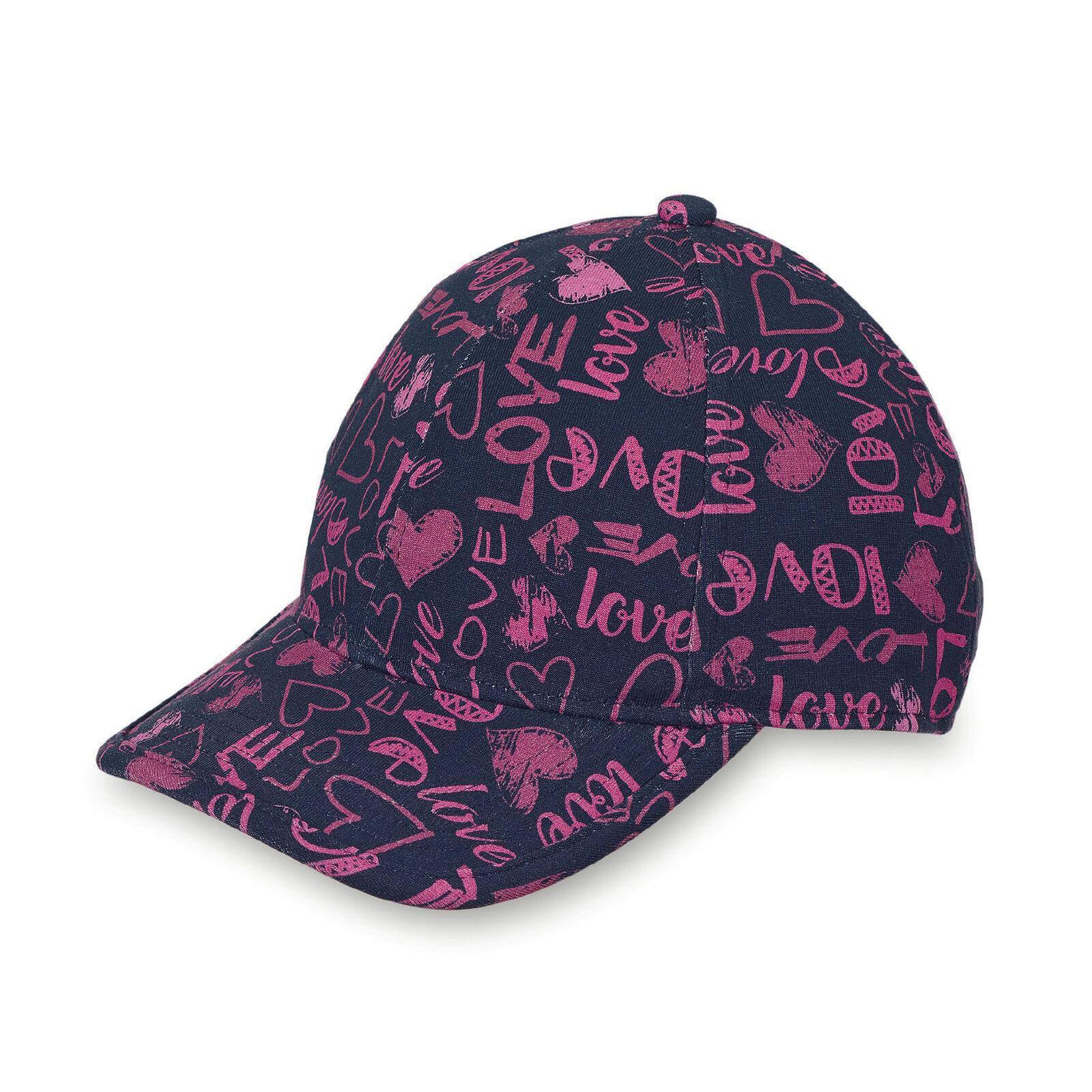Sterntaler Mädchen Baseballcap Gr.53-55 marine Basecap UV 30+ Hut neu!