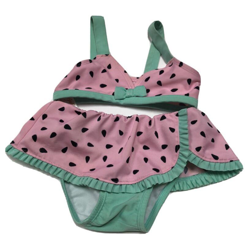 3T Toddler Bikini Pink Watermelon 2 Pc Swimsuit Cat & Jack
