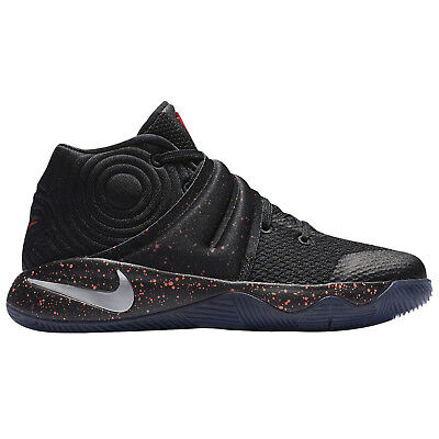 50091a9ea3ba NIKE Kyrie 2 (PS) Basketball Shoes sz 11C Black Red Speckle Crossover Pre-