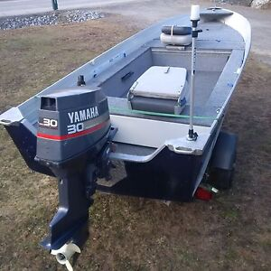 16' Aluminum Starcraft with 1997/98 Yamaha 30hp Outboard