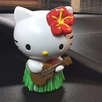 Hello Kitty Ornaments (Hello Kitty Red Hula Dancer Girl Dash Mount Car Dashboard Auto)