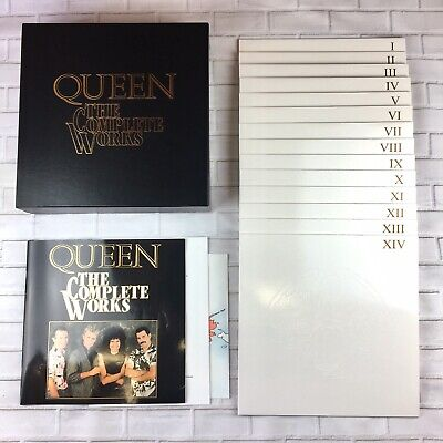 Queen - The Complete Works 14 x Vinyl Box set - (U.K) 1985 - Limited Edition (Queen Vinyl-box-set)
