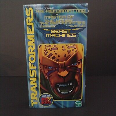 Transformers Beast Machine VHS Movie Video Tape Sealed New 1999