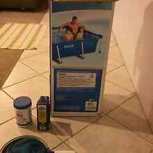 Intex metal frame pool with accessories Redcliffe Belmont Area Preview