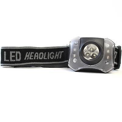 GRUNDIG LED Stirnlampe Kopflampe Kopfleuchte Headlight Angeln Fahrrad Camping