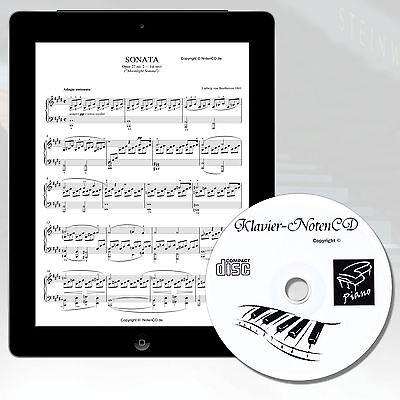 *KLAVIERNOTEN* MEGA SAMMLUNG auf CD* für Klavier, Keyboard und Digitalpiano
