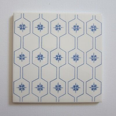 """Vintage 1960s 6/"""" x 6/"""" Wall Tile ITALY 5 Sq Ft Available"""