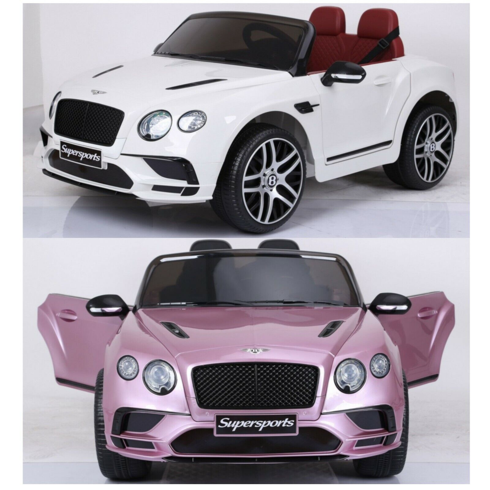 Details about Kids Licensed Bentley Continental Supersports 12V Ride On Children Electric Car