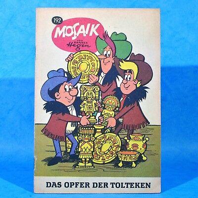 Mosaik 192 Digedags Hannes Hegen Originalheft | DDR | Sammlung original MZ 15