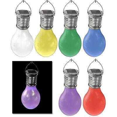 LED Solar Glühbirne Hängelampe Gartenlampe Dekoleuchte Solarleuchte Hängelampe