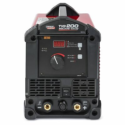 Lincoln Electric Square Wave 200 Tig Welder-u5126-1 3-yr. Warranty