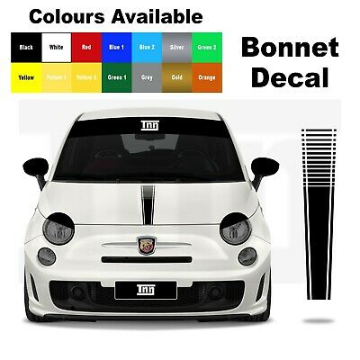 Auto-Tuning & -Styling 595 Abarth Dash Overlay Decal sticker badge ...