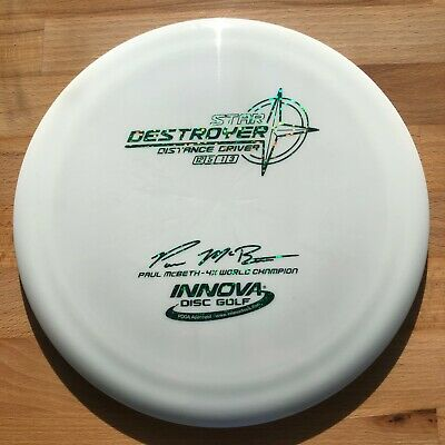 New INNOVA STAR DESTROYER Paul McBeth 4x Max Weight 175g Disc Golf Innova Star Destroyer
