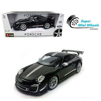 Bburago 1:18 Porsche 911 GT3 RS 4.0 (Black) Diecast Model