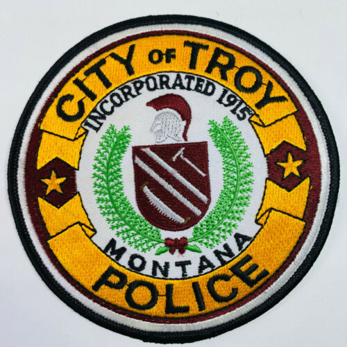 City of Troy Police Lincoln County Montana Patch