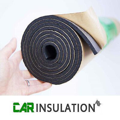 Car Parts - 3m Roll 6mm Car Sound Proofing Deadening Camper Van Insulation Closed Cell Foam