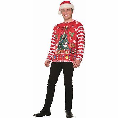 Santa Hemd 3d Bedruckt Langärmlig Lustige Weihnachten Urlaub Party (Lustige Santa Kostüme)