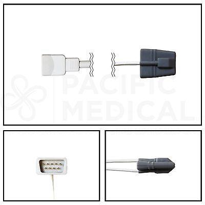 Nonin 8000sm Spo2 Pediatric Soft Shell Finger Sensor Db9 9 Pin 3 Cable Warranty
