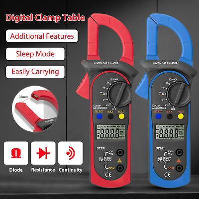 Digital Clamp Meter Multimeter Ammeter Voltmeter Ohmmeter