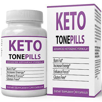 Keto Tone Pills Weightloss Supplement Keto Diet Tablets - Fire Up your Fat Bu...