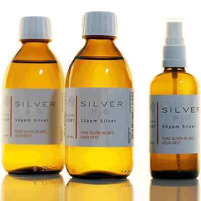 2x Flaschen (je 250ml/10ppm ) kolloidales Silber + Gratisspray geschenkt (50ppm)