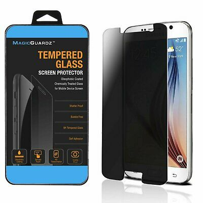 Anti-Spy Premium Privacy Tempered Glass Screen Protector for Samsung Galaxy S6 Cell Phone Accessories